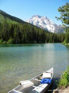 Grand Teton Canoeing at String Lake