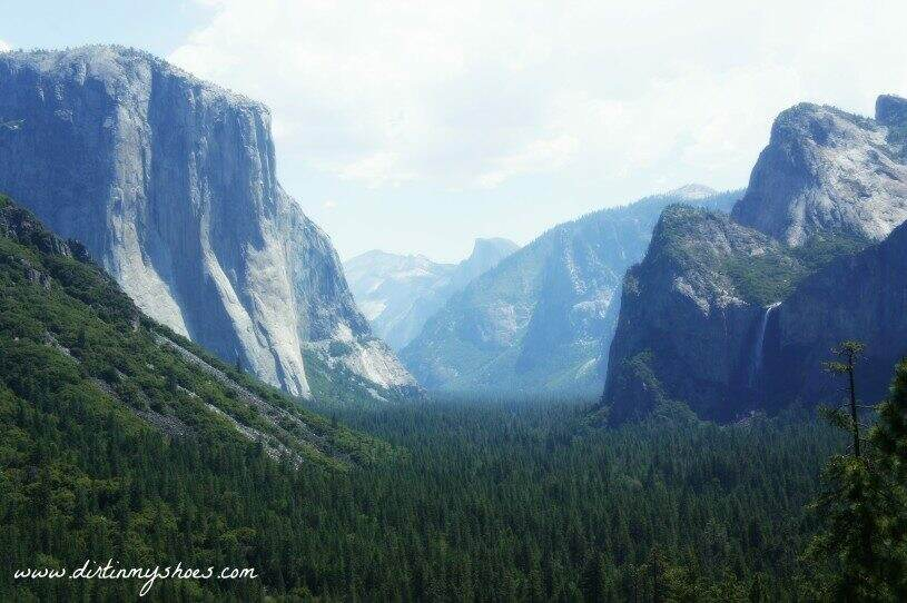 Yosemite Tunnel View Viewpoint