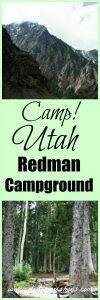 Camp in the Redman Campground || Salt Lake City, Utah || Dirt In My Shoes