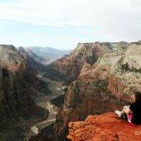 Observation Point || Zion National Park || Kayci Rainey