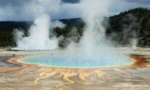 Grand Prismatic || Yellowstone National Park || Dirt In My Shoes