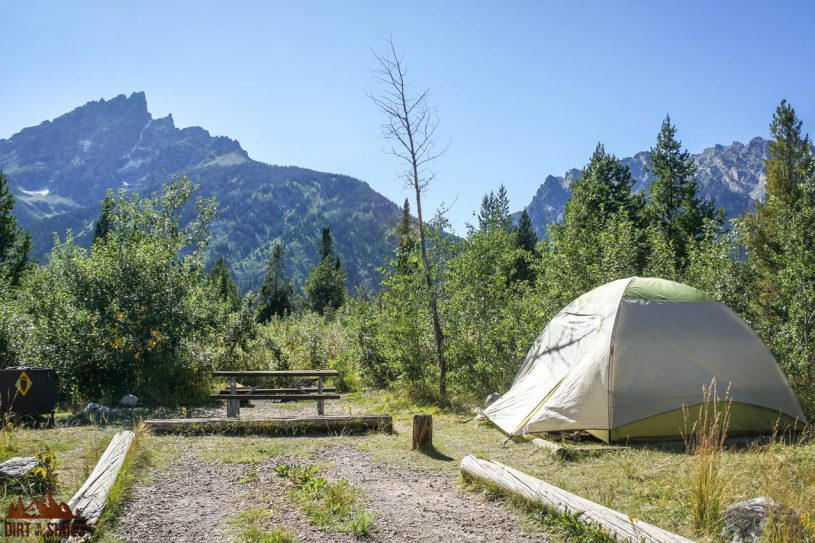 All About Camping in Grand Teton National Park