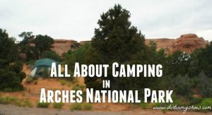 Devils Garden Campground || Arches National Park || Dirt In My Shoes