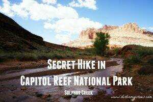 Sulphur Creek ||Capitol Reef National Park || Dirt In My Shoes