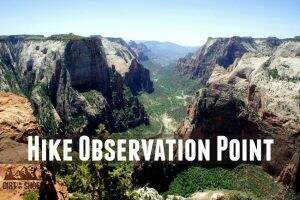 Observation Point || Zion National Park || Dirt In My Shoes