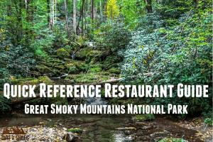 Great Smoky Mountains Restaurant Guide || Dirt In My Shoes