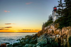Bass Harbor Head Lighthouse || Acadia National Park || Dirt In My Shoes
