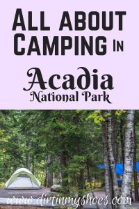 All About Camping in Acadia National Park || Dirt In My Shoes