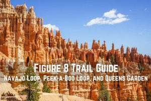 Figure 8 Trail Guide -- Navajo Loop, Peek-a-Boo Loop, and Queens Garden || Bryce Canyon National Park || Dirt In My Shoes