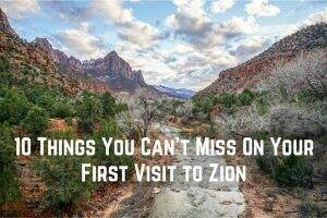 10 Things You Can't Miss On Your First Visit || Zion National Park || Dirt In My Shoes