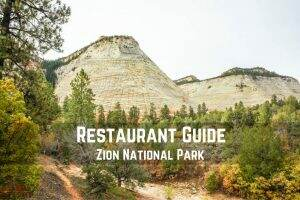 Restaurant Guide || Zion National Park || Dirt In My Shoes