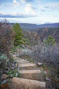 Rim Rock Trail || Black Canyon of the Gunnison National Park || Dirt In My Shoes
